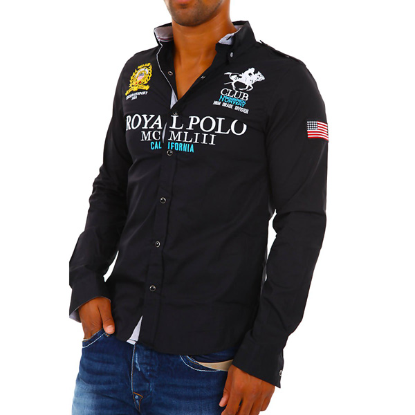 Overhemd Geographical Norway Zecto Black