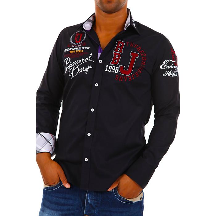 Overhemd Zwart Heren.Alle Bedrijven Online Overhemd Heren Red Bridge Zwart Heren