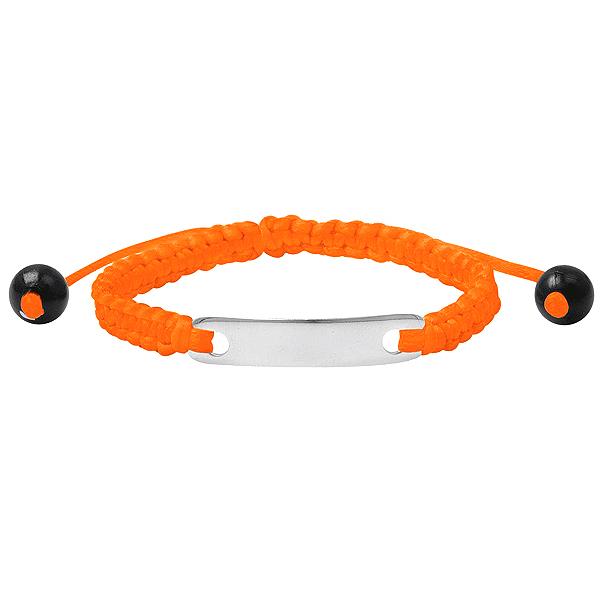 Kinderarmband ID Orange