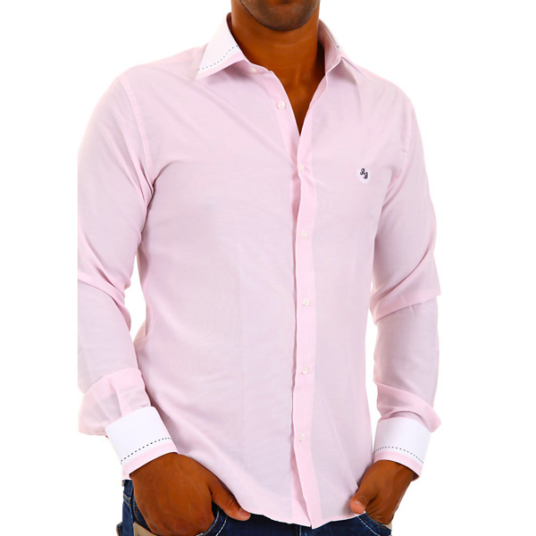 Red Bridge overhemd Slim fit Roze