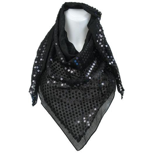 Sarlini dames sjaal Moana Zwart