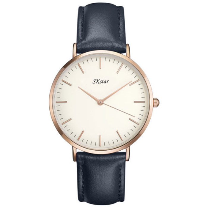 Sk Star Horloge Classic Paris Navy Rose