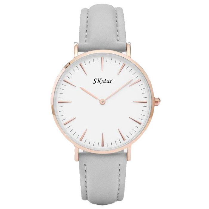 SK Star horloge Classic Rome Grey Rose