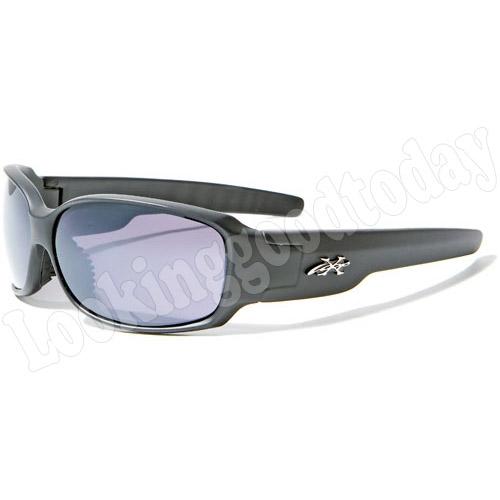 Sport zonnebril Xloop Mat Zwart