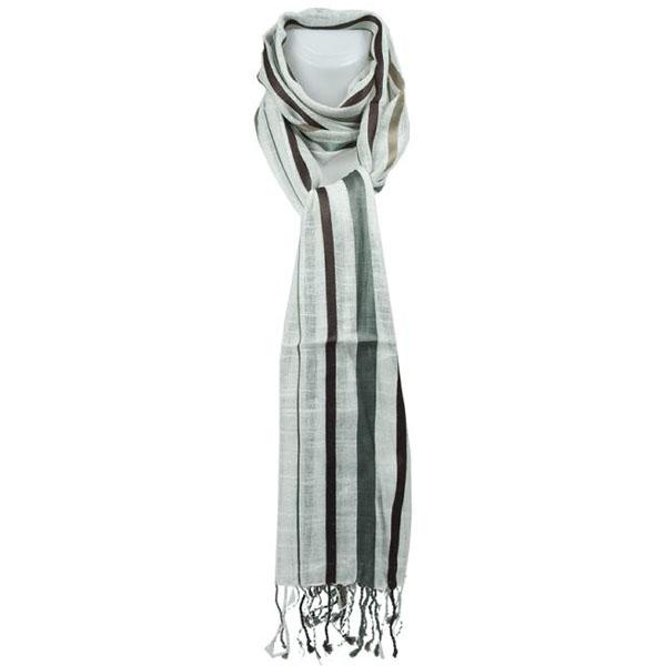 Sarlini fashion sjaal Stripes Bruin