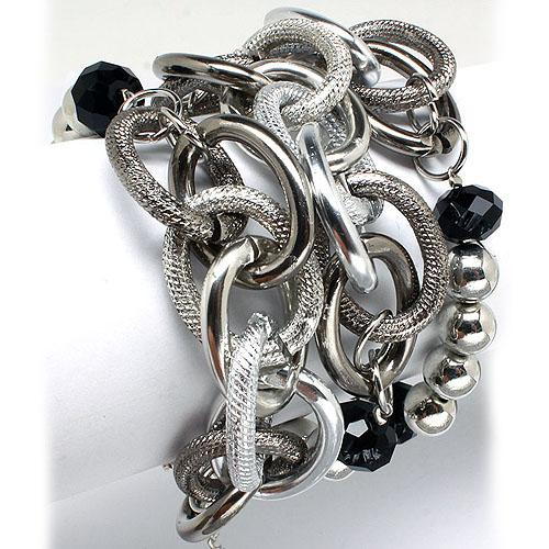 Elegante dames armband Zilver