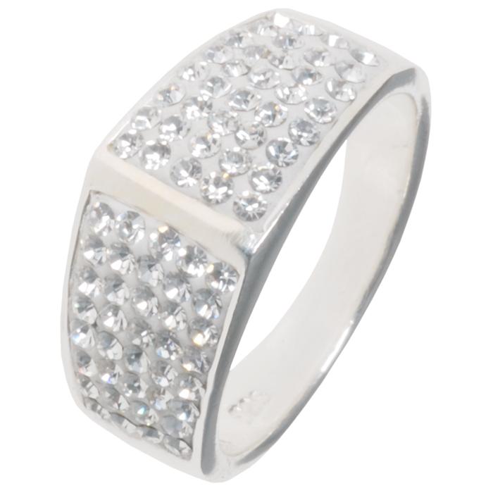Swarovski ring 925 zilver 18mm