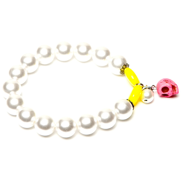 LookingGoodToday, Sugarz dames armband Neon Pearls