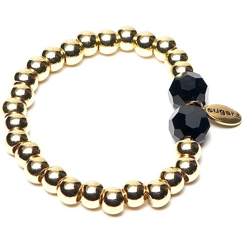 Sugarz armband Preciosa Gold Black