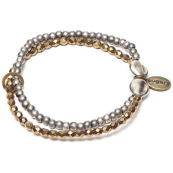 Sugarz dames armband Silver Bronze