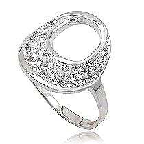 Fashion dames ring Circle