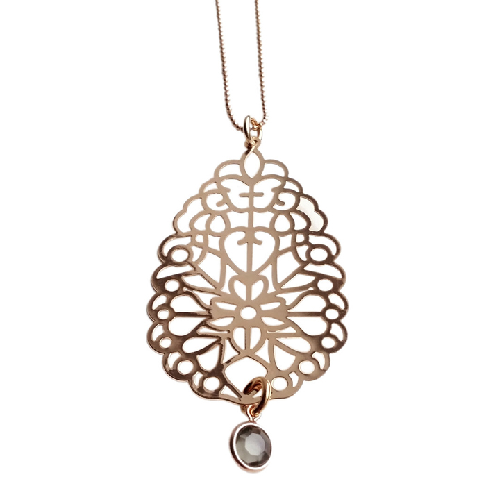 TABOO collier IVY ROSEGOUD