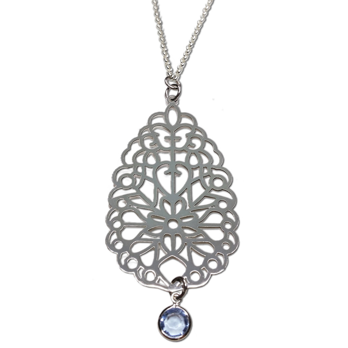 TABOO collier IVY ZILVER
