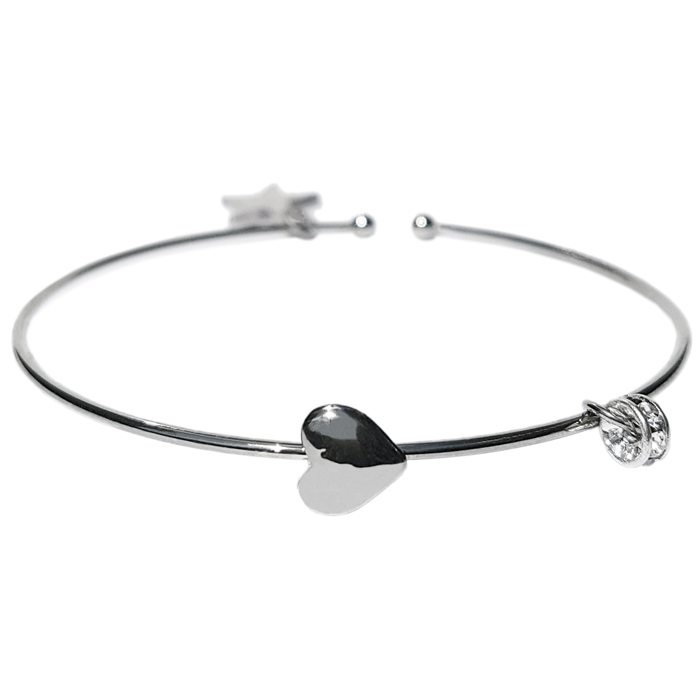 TABOO dames armband WENDY ZILVER