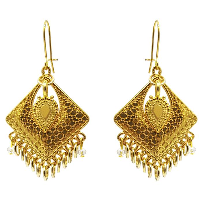 TABOO dames oorbellen IRIS GOLD