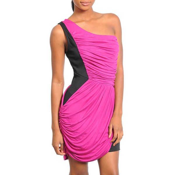Wow Couture One Shoulder dress
