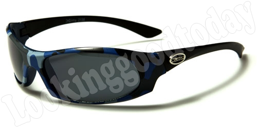 Xloop kinder zonnebril Army Blue