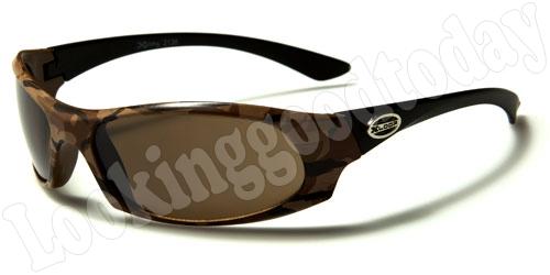 Xloop kinder zonnebril Army Brown