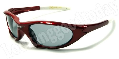 Xloop kinder zonnebril Sports Red