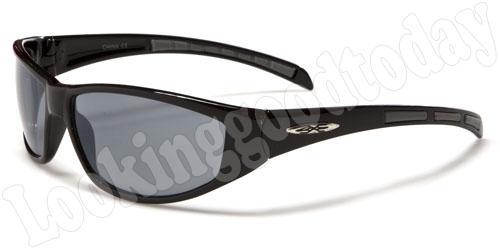 Xloop kinder zonnebril Stripe 2-tone Black