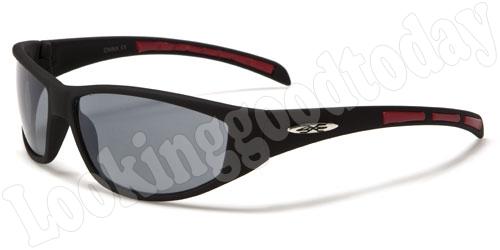 Xloop kinder zonnebril Stripe 2-tone Red
