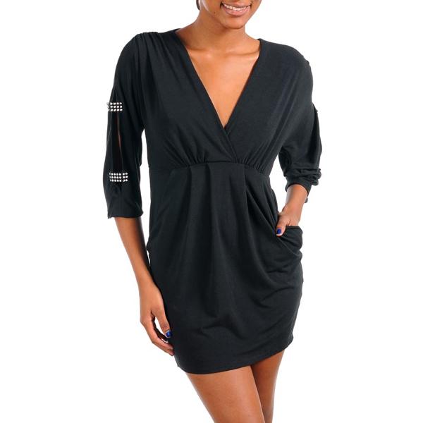 Zwarte jurk sequins